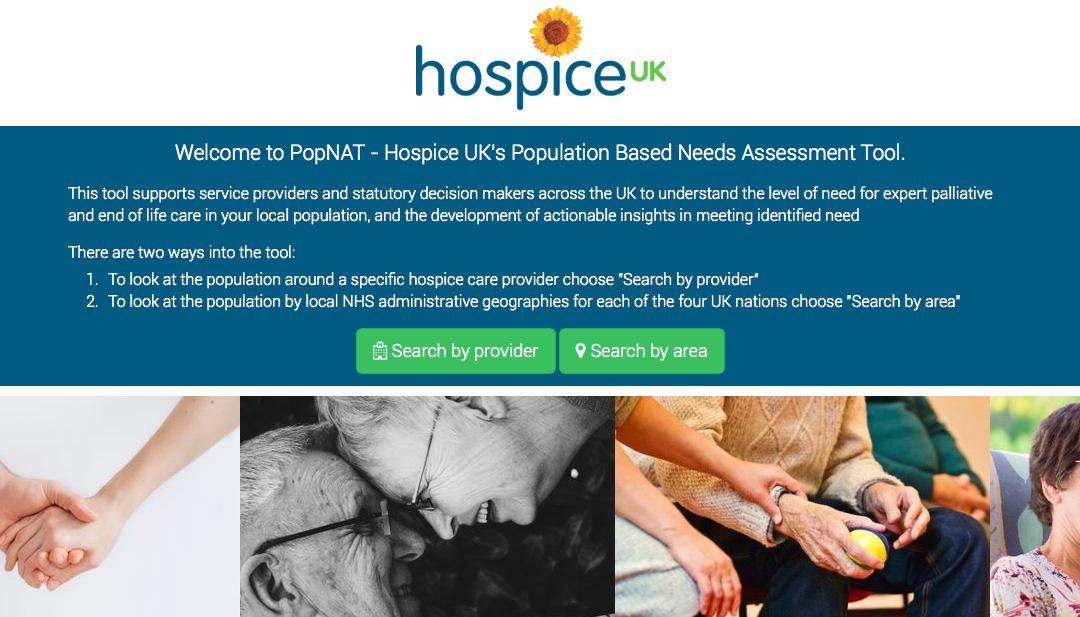 Working with Hospice UK: The PopNAT Process