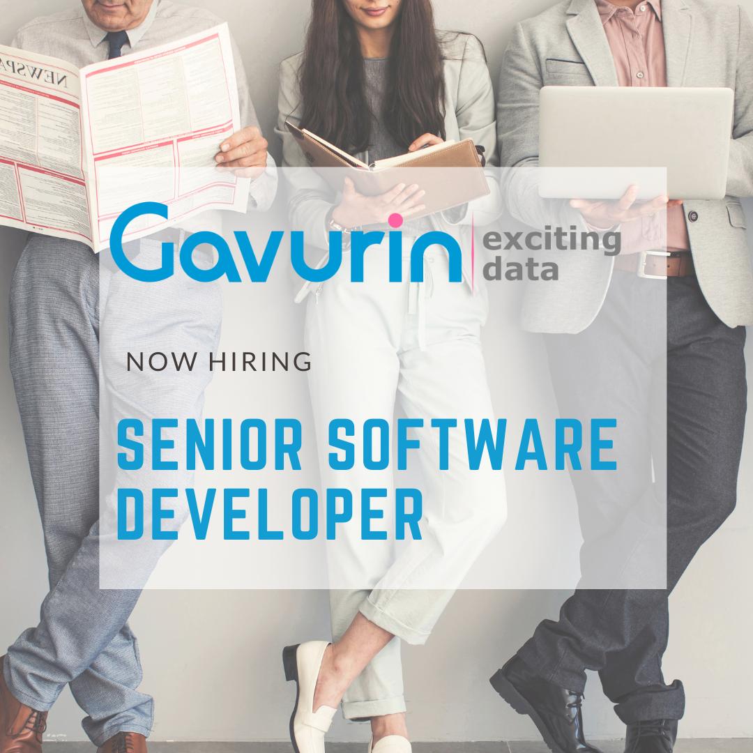 Senior Software Developer Job Announcement